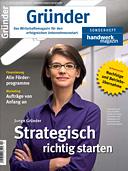 Titelbild Ausgabe SH: Gründer 2014