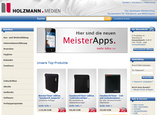 Website Medienshop